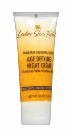 B & C Ladies Skin Tight Age Defying Night Creme 3.5 ozTube