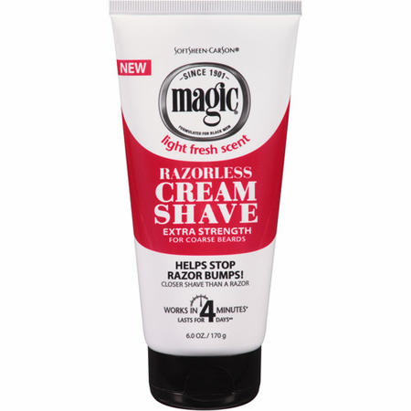 Magic Razorless Cream Shave Extra Strength 6 oz