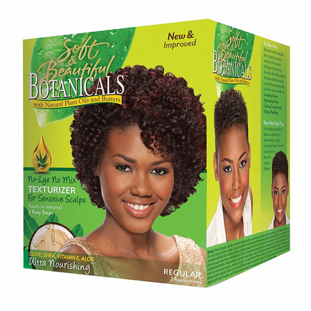 Soft & Beautiful Botanicals Texturizer No Lye Regular - Melanin Beauty Suppliers