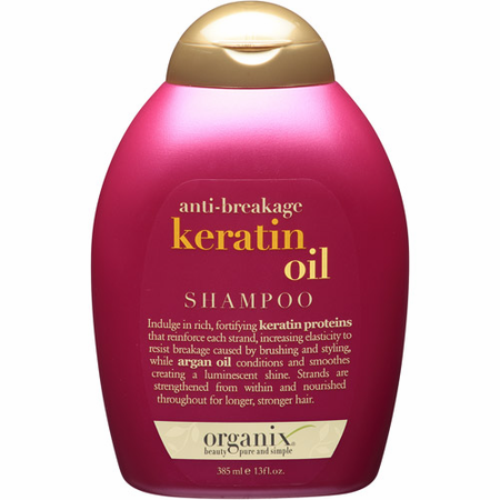 OGX Keratin Oil Shampoo 13 oz - Melanin Beauty Suppliers