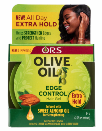 ORS Olive Oil Edge Control Smooth Hold Gel 2.25 oz - Melanin Beauty Suppliers