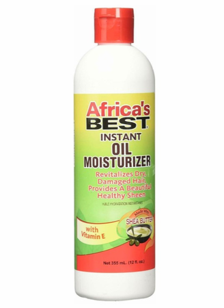 Africa's Best Instant Oil Moisturizer 12 oz - Melanin Beauty Suppliers