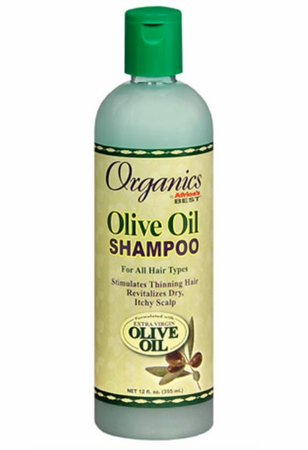 Africa's Best Originals Olive Oil Shampoo 12 oz - Melanin Beauty Suppliers