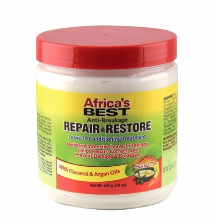 Africa's Best Anti Breakage Repair & Restore Leave In Conditioning Treatment 15 oz - Melanin Beauty Suppliers