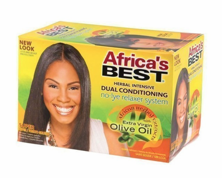 Africa's Best Herbal Intensive No lye Relaxer Kit Super - Melanin Beauty Suppliers
