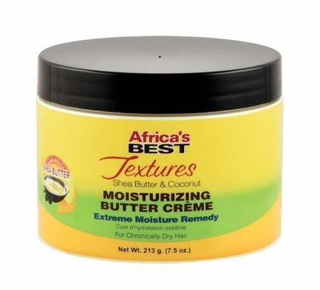 Africa's Best Textures Moisturizing Butter Creme 7.5 oz - Melanin Beauty Suppliers