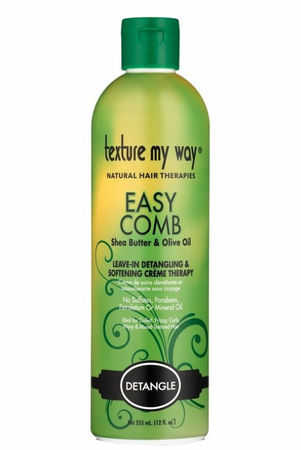 Africa's Best Women's Texture My Way Easy Comb Detangling & Softening Creme 12 oz - Melanin Beauty Suppliers