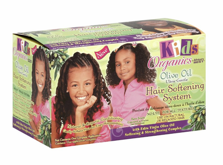 Africa's Best Kids Originals Olive Oil Ultra Gentle Hair Softening System