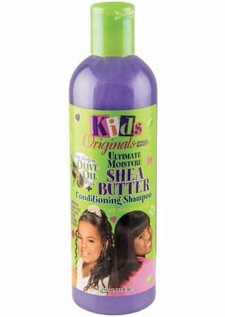 Africa's Best Kids Originals Ultimate Moisture Shea Butter Shampoo 12 oz - Melanin Beauty Suppliers