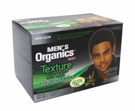 Africa's Best Men's Texture My Way Texturizing Kit - Melanin Beauty Suppliers