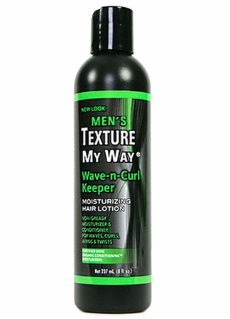 Africa's Best Men's Texture My Way Wave n Curl Keeper 8 oz - Melanin Beauty Suppliers