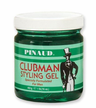 Clubman Styling Gel, Jar 16 oz - Melanin Beauty Suppliers