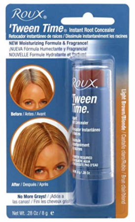 Roux Tween Time Light Brown/Blonde Temporary Haircolor Touch Up Color Stick .33oz