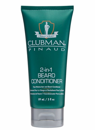 Clubman Pinaud 2 in 1 Beard Conditioner 3 oz - Melanin Beauty Suppliers