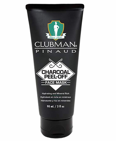 Clubman Pinaud Charcoal Peel Off Face Mask 3 oz - Melanin Beauty Suppliers