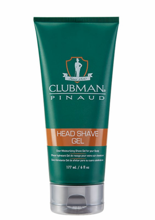 Clubman Pinaud Head Shave Gel 6 oz - Melanin Beauty Suppliers