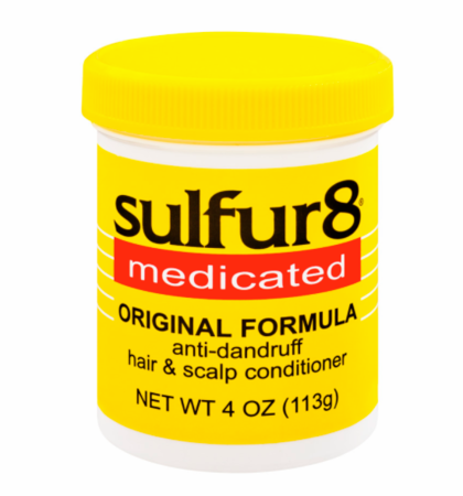 Sulfur 8 Medicated Original Formula Hair & Scalp Conditioner 4 oz - Melanin Beauty Suppliers