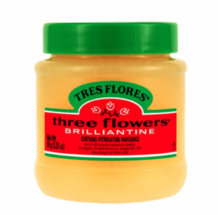 Tres Flores Brilliantine Solid Pomade 3.25 oz - Melanin Beauty Suppliers