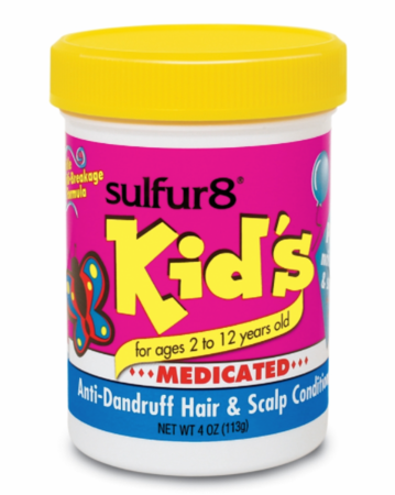 Sulfur 8 Kids Anti Dandruff Hair & Scalp Conditioner 4 oz