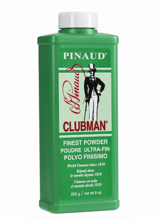 Clubman Pinaud Powder White 9 oz - Melanin Beauty Suppliers