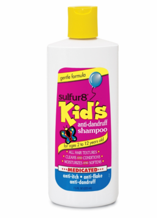 Sulfur 8 Kid's Anti Dandruff Shampoo 7.5 oz - Melanin Beauty Suppliers