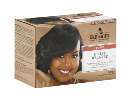 Dr. Miracles Intensive No lye Relaxer Kit Super