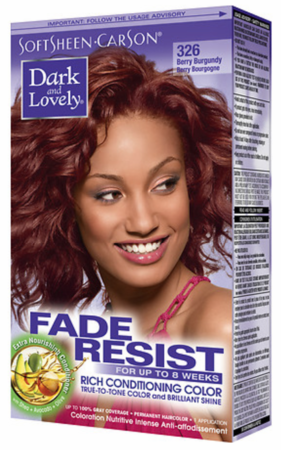 Dark and Lovely Fade Resist Hair Color Berry Burgundy