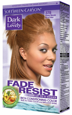 Dark and Lovely Fade Resist Hair Color Honey Blonde