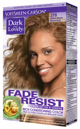 Dark and Lovely Fade Resist Hair Color Gold Bronze