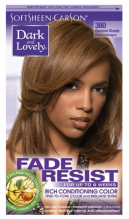 Dark and Lovely Fade Resist Hair Color Chestnut Blonde - Melanin Beauty Suppliers