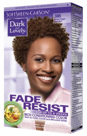 Dark and Lovely Fade Resist Hair Color Brown Sugar