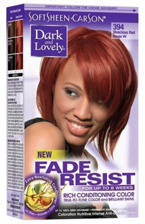 Dark and Lovely Fade Resist Hair Color Vivacious Red