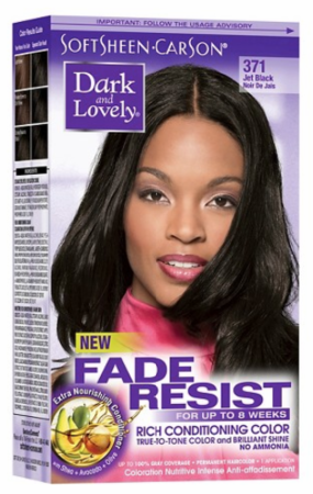 Dark and Lovely Fade Resist Hair Color Jet Black