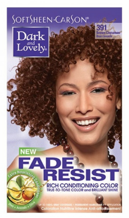 Dark and Lovely Fade Resist Hair Color Brown Cinnamon