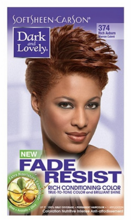 Dark and Lovely Fade Resist Hair Color Rich Auburn - Melanin Beauty Suppliers