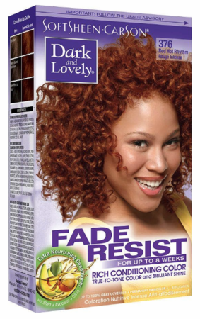 Dark and Lovely Fade Resist Hair Color Red Hot Rhythm - Melanin Beauty Suppliers