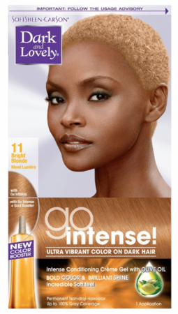 Dark and Lovely Go Intense Permanent Hair Color Bright Blonde