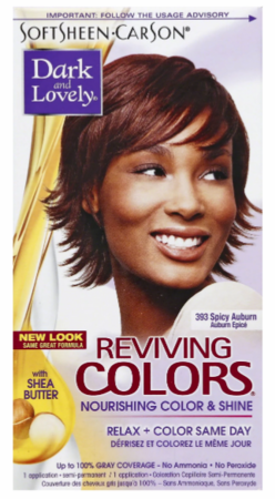 Dark and Lovely Reviving Colors Semi Permanent Hair Color Spiced Auburn