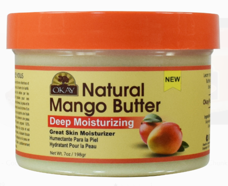 Okay Natural Mango Butter 7 oz