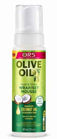 ORS Olive Oil Wrap and Set Mousse 7 oz - Melanin Beauty Suppliers