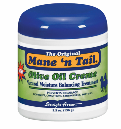 Mane 'N Tail Olive Oil Cream Natural Moisturizing Balancing Treatment 5.5 oz - Melanin Beauty Suppliers