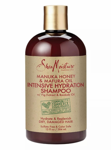 SheaMoisture Manuka Honey Shampoo 13 oz - Melanin Beauty Suppliers
