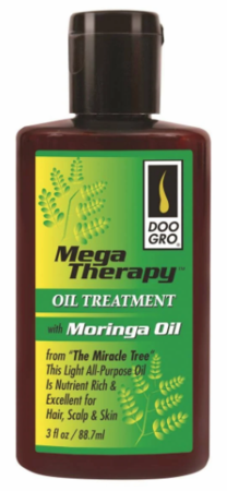 Doo GroMega Therapy Oil Treatment with Moringa Oil 3 oz - Melanin Beauty Suppliers