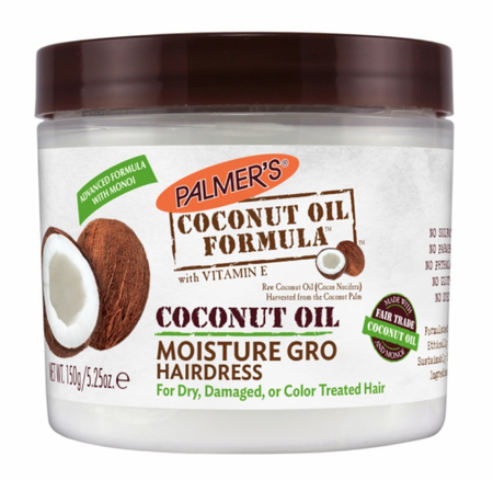 Palmer's Coconut Oil Formula Moisture Gro Shining Hairdress 5.25 oz - Melanin Beauty Suppliers