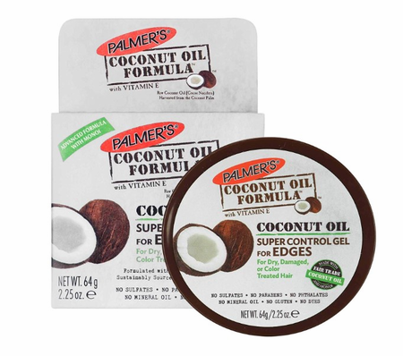 Palmer's Coconut Oil Formula Super Control Gel for Edges 2.25 oz - Melanin Beauty Suppliers