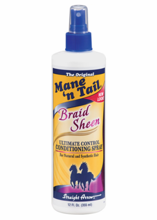 Mane 'N Tail Braid Sheen Conditioning Spray Ultimate Control 12 fl oz - Melanin Beauty Suppliers