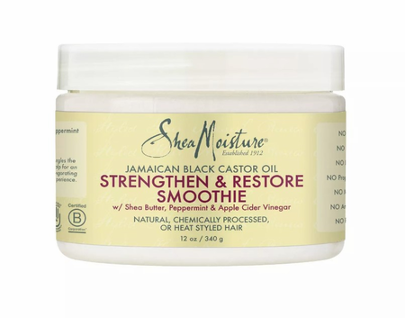 Shea Moisture Jamaican Black Castor Oil Hair Smoothie 12 oz - Melanin Beauty Suppliers