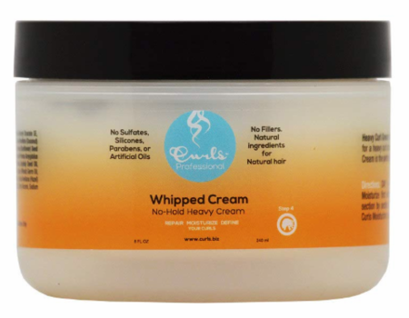 Curls Whipped Styling Cream 8 oz - Melanin Beauty Suppliers