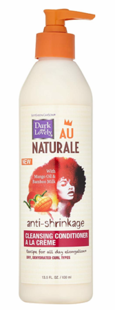 Dark and Lovely Au Naturale Anti Shrinkage Cleansing Conditioner 13.5 oz - Melanin Beauty Suppliers