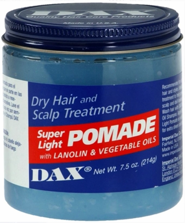 Dax Super Light Pomade 7.5 oz - Melanin Beauty Suppliers